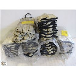 APPROX.50 PAIRS OF PIGSKIN LEATHER DRIVER GLOVES