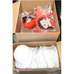 2 BOXES OF NEW HARD HATS W/ LINERS