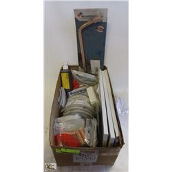 FLAT OF ASSORTED COMMERCIAL WELDING PRODUCTS