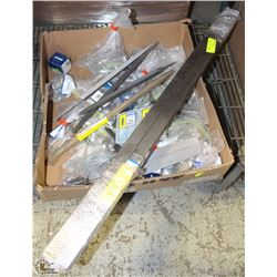 FLAT OF ASSORTED METAL PRODUCTS & TOOLS