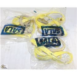 3 NEW SALA 6' WEB SLINGS