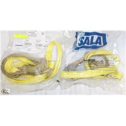 2 NEW SALA 6' WEB SLINGS
