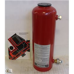 NEW ANSUL 25 POUND DRY CHEMICAL FIRE SUPPRESSION