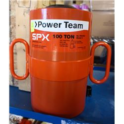NEW SPX POWERTEAM 100 TON HYDRAULIC LIFT