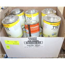 LOT OF ANTI-SIEZE COMPOUND(11)  & HIGH PRESSURE