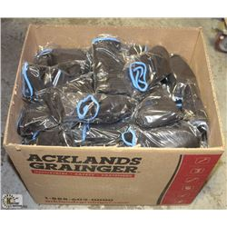 100 PAIRS OF FORCEFIELD NITRILE GLOVES SIZE: XXL
