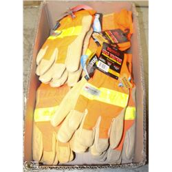 FLAT OF KINCO COLDWEATHER PIGSKIN GLOVES