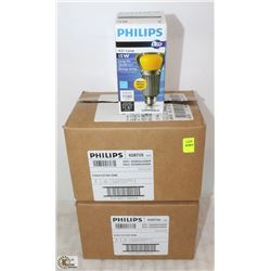 2 BOXES OF PHILIPS LONG-LIFE LED A21 LAMP-15W