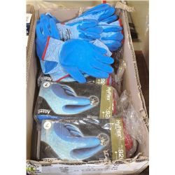 4 BUNDLES OF HY-FLEX NITRILE ULTRA-GRIP GLOVES