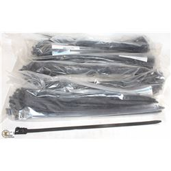6 PACKS OF HD ZIP-TIES (150 TOTAL)