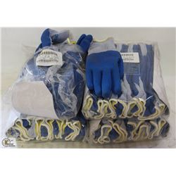 CASE OF JOMAC LARGE PVC-DIPPED WORKGLOVES