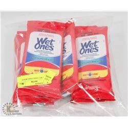 BAG OF WET ONES HAND WIPES