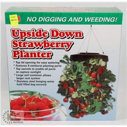 UPSIDE DOWN STRAWBERRY PLANTER