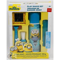 MINIONS PLAY SHAVE SET