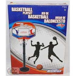 MONTOY BASKETBALL PLAYSET