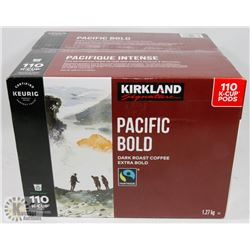 CASE OF PACIFIC BOLD COFFEE