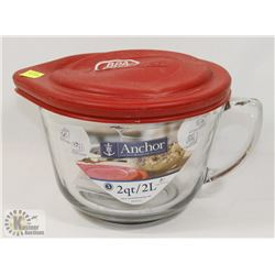 2L ANCHOR MEASURING CUP WITH LID