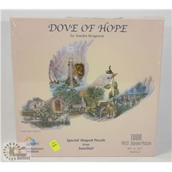FACTORY SEALED DOVE OF HOPE 1000 PC PUZZLE