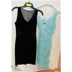 TWO WOMEN'S DRESSES