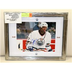 GEORGE LARAQUE GUARANTEED AUTHENTIC AUTOGRAPH