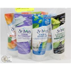 BAG OF ASSORTED ST IVES PRODUCTS