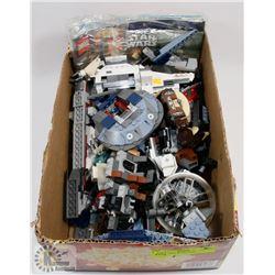 BOX OF STAR WARS LEGO