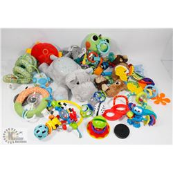 ESTATE BOX OF BABY TOYS