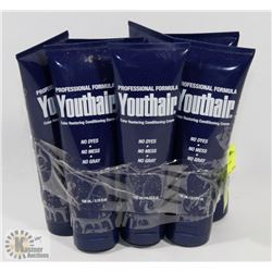 7 NEW BOTTLES OF YOUTH HAIR COLOR RESTORING