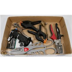 FLAT OF SHEET METAL TOOLS & MORE, INCLUDES MALCO