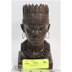 AFRICAN HEAD BUST
