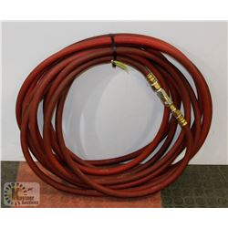 50FT AIR HOSE WITH LARGE COUPLERS AT 250PSI