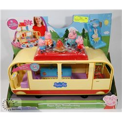 PEPPA PIGS TRANSFORMING CAMPER VAN