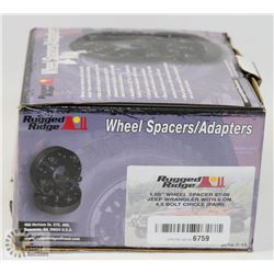 RUGGED RIDGE WHEEL SPACERS/ ADAPTERS