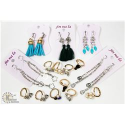 LARGE BUNDLE OF NEW! FASHION JEWELRY INCLUDING