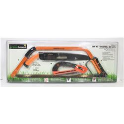 NEW! GREENHOUSE SAW KIT