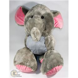 ESTATE LARGE ELEPHANT STUFFED ANIMAL