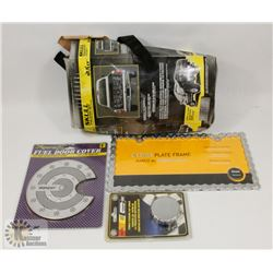 LOT OF NEW AUTO ACCESSORIES INCL SKULL