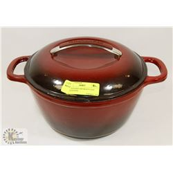 NEW KITCHEN AID HEAVY CAST DUTCH OVEN