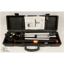 JOBMATE LASER LEVEL WITH ADJUSTABLE TRIPOD
