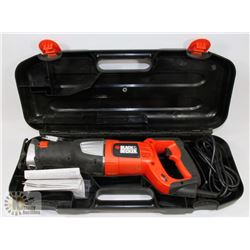 BLACK AND DECKER RECIPROCATING SAW NO RS600