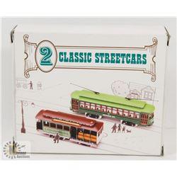 2 CLASSIC STREETCARS