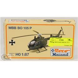 ROCO MINITANKS MBB BO 105 P