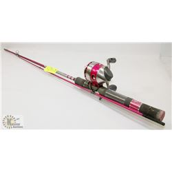 NEW ZEBCO 33 AUTHENTIC FISHING ROD & REEL
