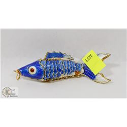 HINGED ART FISH DECORATION