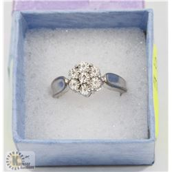 .925 NATURAL DIAMOND RING