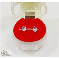 #181-NATURAL SPINEL STUD EARRINGS