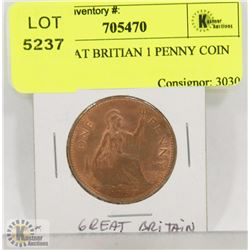 1967 GREAT BRITAIN 1 PENNY COIN