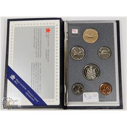 1989 CANADA SPECIMEN SET SEALED CASE