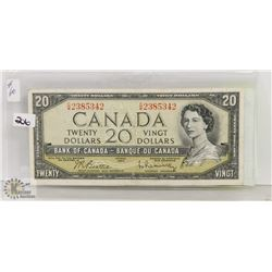 1954 BANK OF CANADA $20 BILL