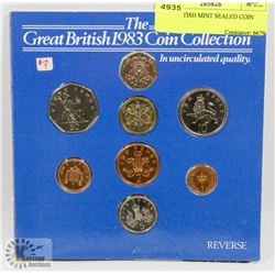 1983 BRITISH MINT SEALED COIN SET